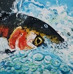 SOLD Harry's Trout ( available in Giclee)